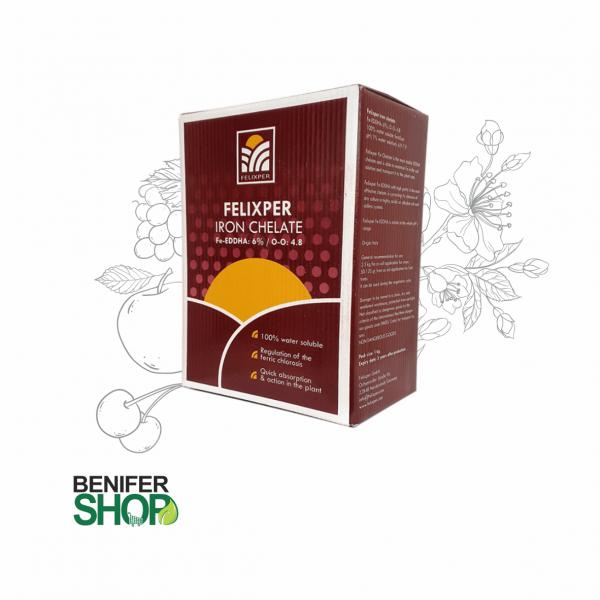 کود کلات آهن 6 درصد فلیکسپر